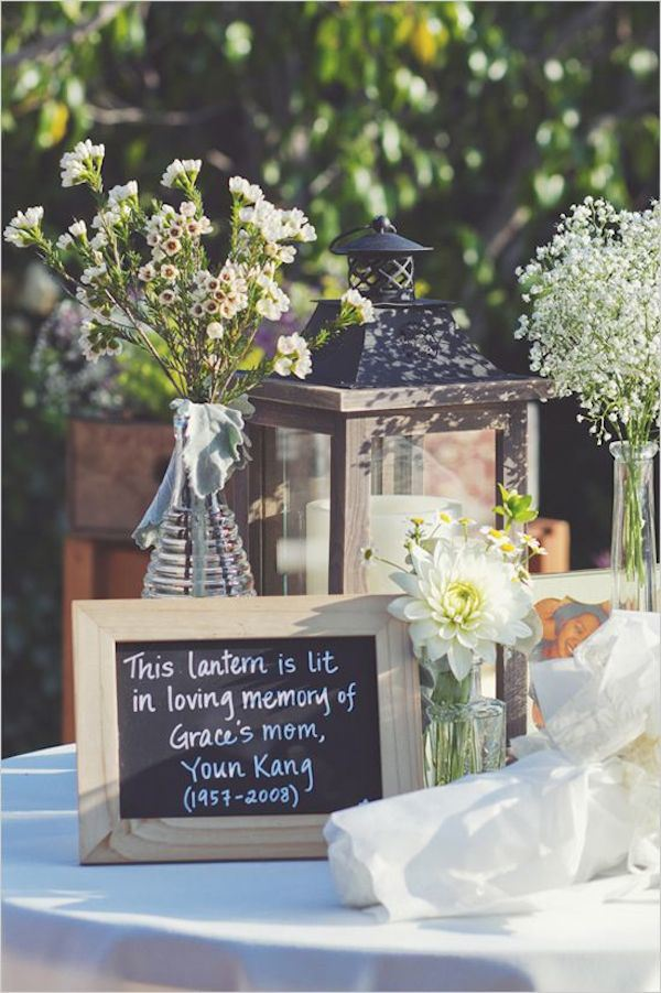 Light A Lantern In Honor Of Your Departed Loved One S Add Little Note For Guest To Read And Know Who You Are Remembering On Special Night